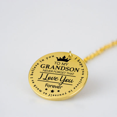 To Grandson Pendant