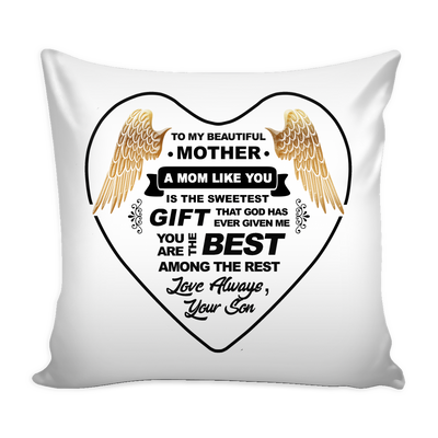 Mom The Best Love Pillow