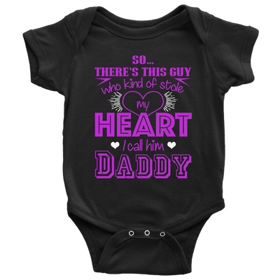 I CALL HIM DADDY BABY ONESIE