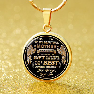 To My Mom - Luxury Necklace