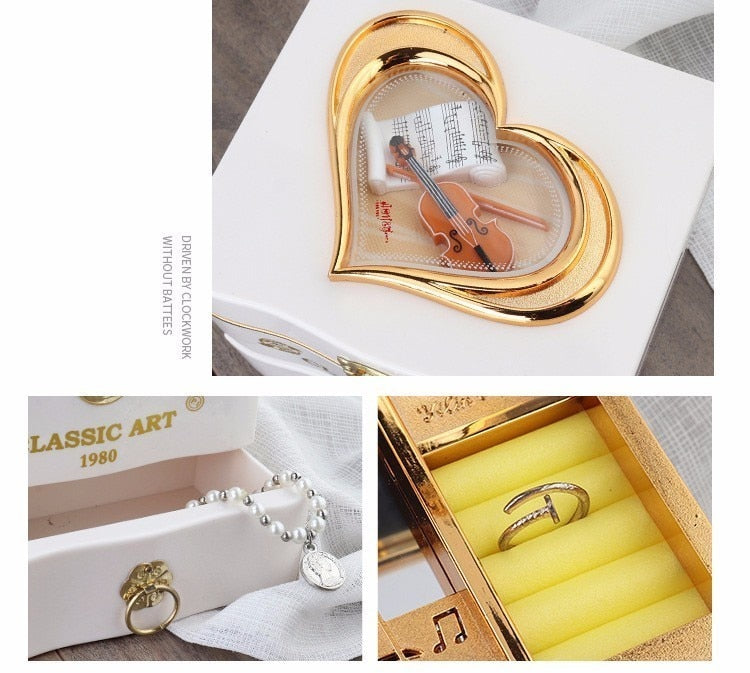 Classic Dancer Music Jewelry Box