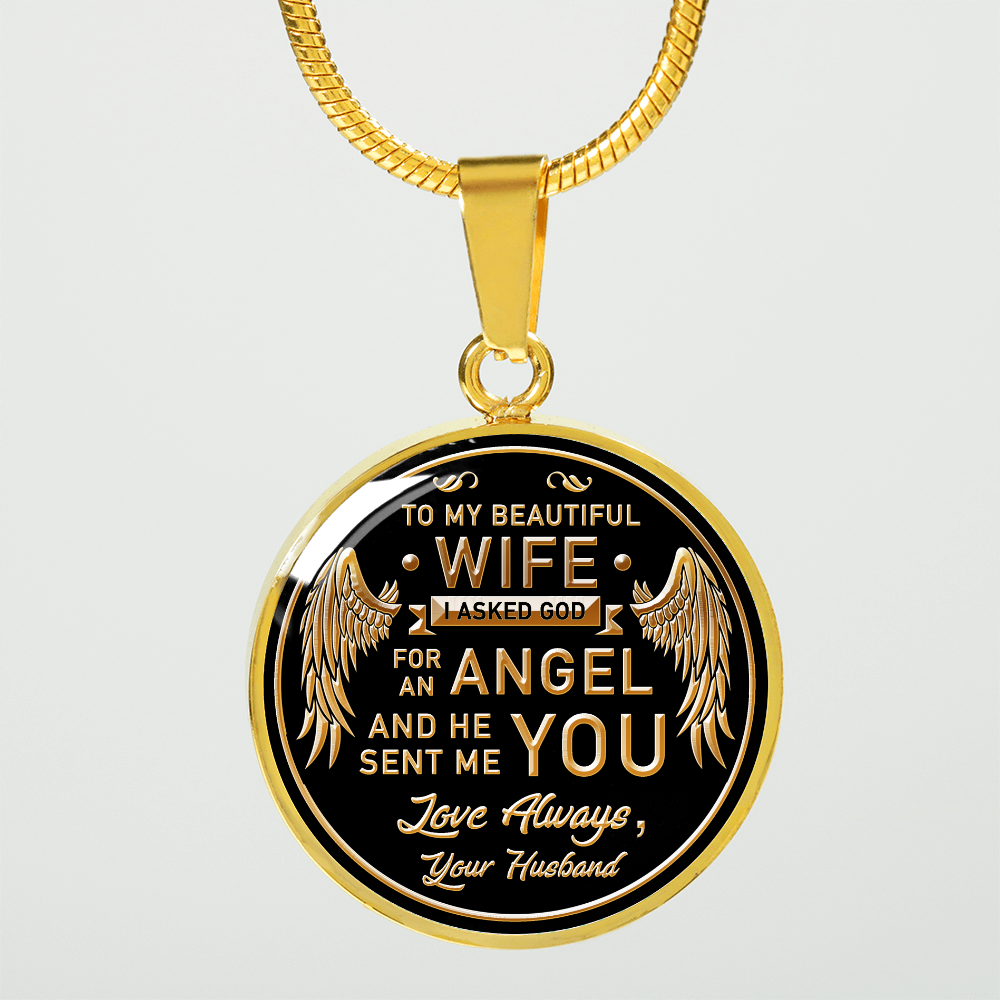 TO MY WIFE - LUXURY NECKLACE
