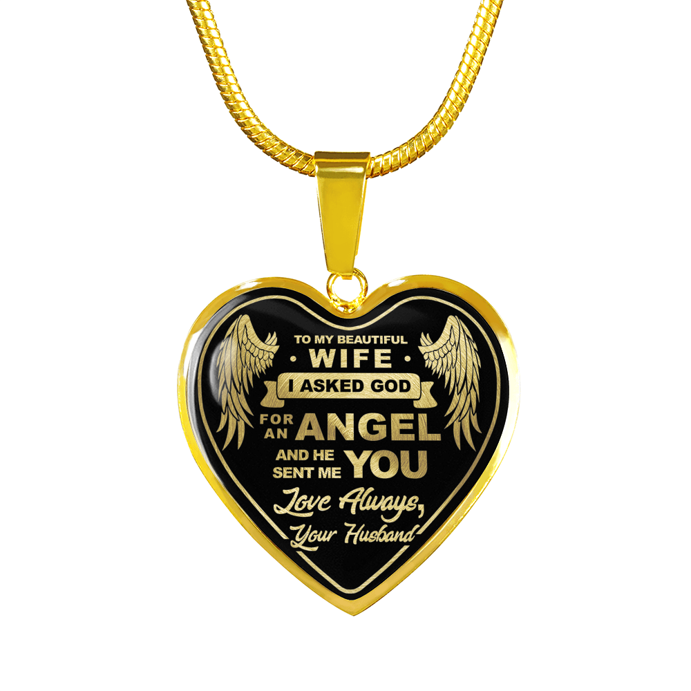 Luxury Engravable Heart Necklace