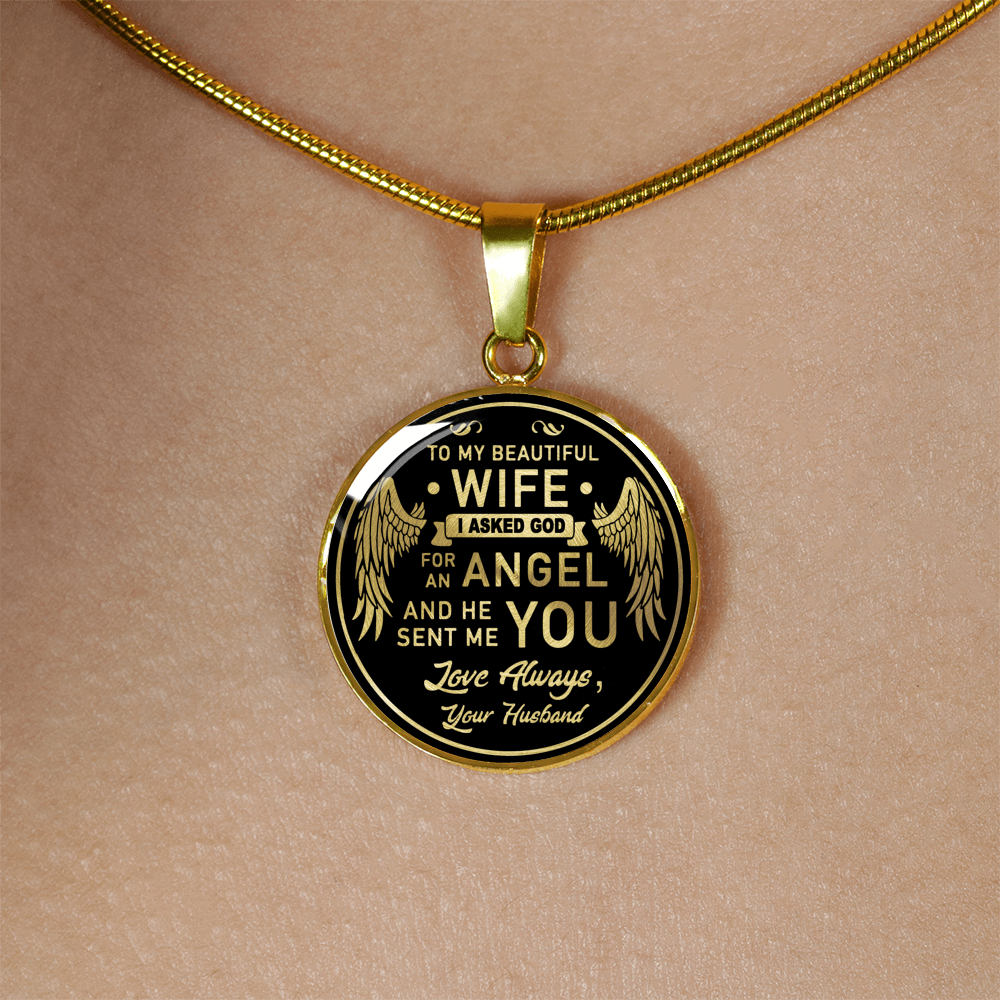 Luxury Engravable Circle Necklace