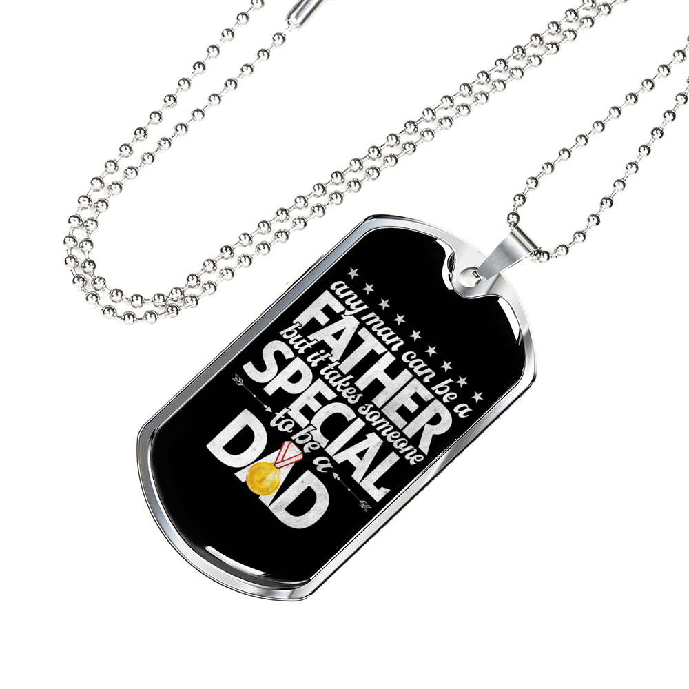 Special Dad Engravable Necklace