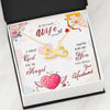 To My Wife God Sent Infinity Necklace