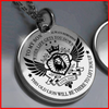 To My Son - This Old Lion Will Lift You Up - Necklace