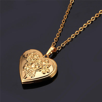 Heart Pendant Photo Locket