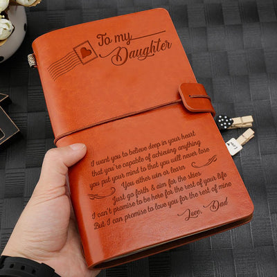 To My Daughter - Believe Vintage Journal