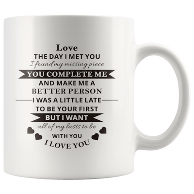 To My Love Mug