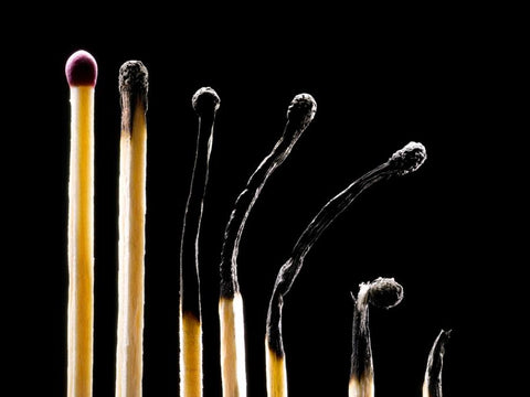 Matchsticks losing vigor and hardness