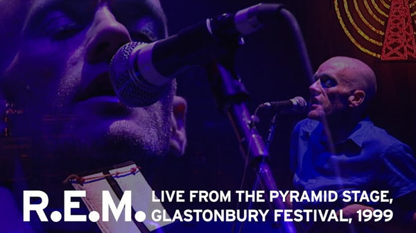 R.E.M.'s 1999 Glastonbury Headliner Will Be Released for 72 Hours On August 6th