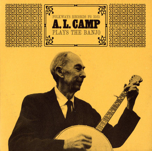 Archibald L Camp: Plays the Banjo