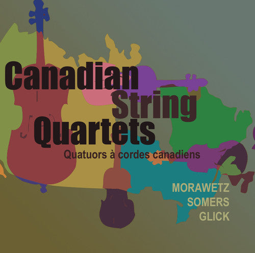 Orford-Purcell 4Tet: Canadian String Quartets
