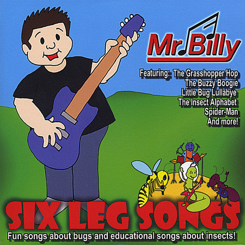 Mr Billy: Six Leg Songs