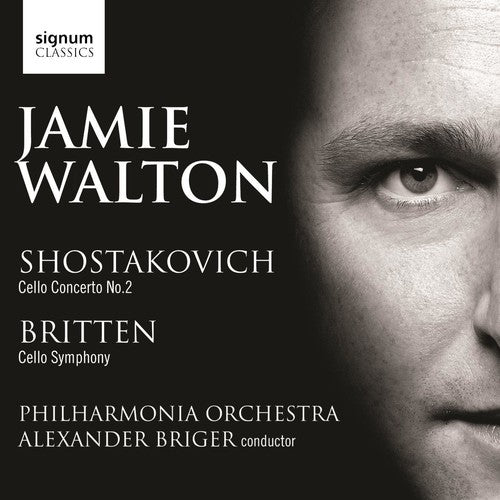 Jamie Walton: Concerto for Cello & Orchestra / Symphony for