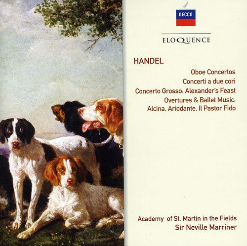 Neville Marriner: Handel: Oboe Ctos No 1-3 / Cto a Due Cori No 1-3