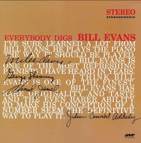 Bill Evans: Everybody Digs Bill Evans
