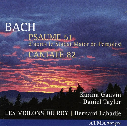 J.S. Bach: Psaume 51 / Cantate 82