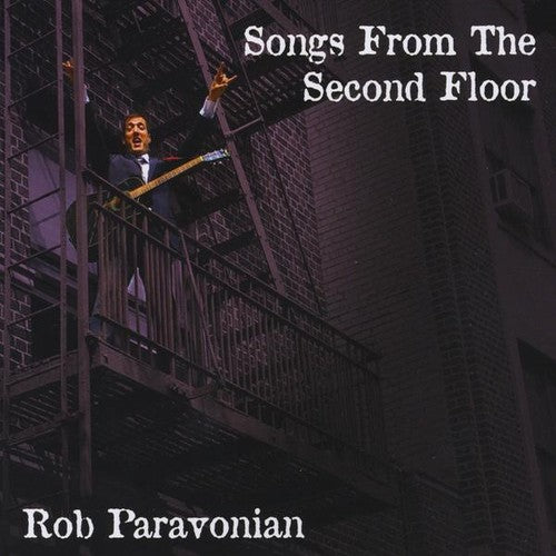 Rob Paravonian: Songs from the Second Floor