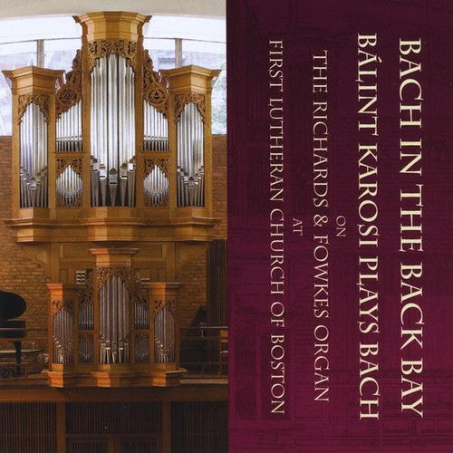 B Lint Karosi: Bach in the Back Bay