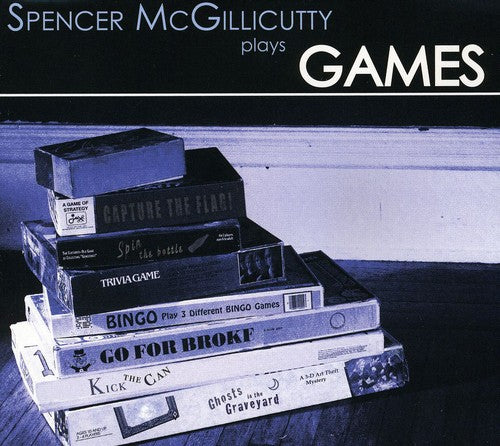 Spencer McGillicutty: Games CD