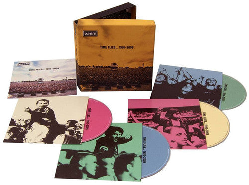 Oasis: Time Flies...1994-2009 [Clamshell] [Box Set] [3CD and 1DVD]
