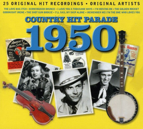 Various Artists: Country Hit Parade 1950