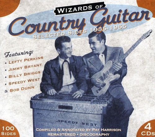 Various Artists: Wizards Of Country Guitar 1935-1955