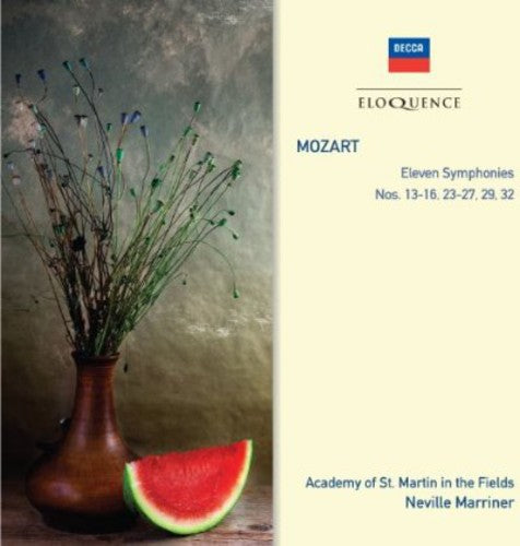 Academy of st. Martin-in-the-Fields: Mozart: Sym Nos 13 - 16 / 23 - 27 / 29 & 32