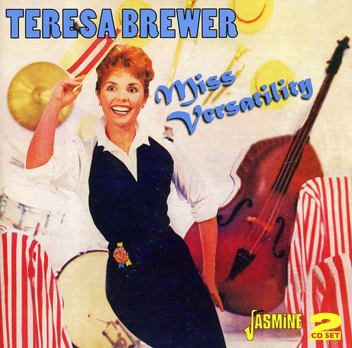 Teresa Brewer: Miss Versatility - 3 LPs: When The Lover Has Gone/Songs Everybody Knows/Dixieland Band and 45s