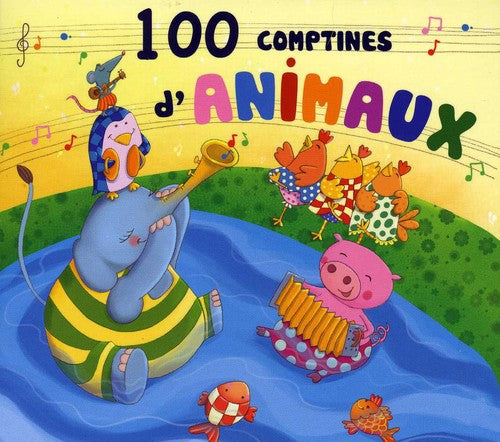 Various Artists: 100 Comptines D'animaux