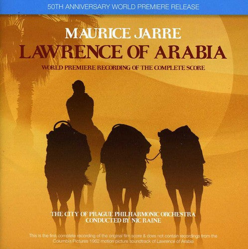 Various Artists: Lawrence of Arabia (World Premiere Recording of the Complete Score)