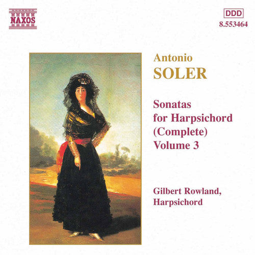 Gilbert Rowland: Sonatas for Harpsichord 3