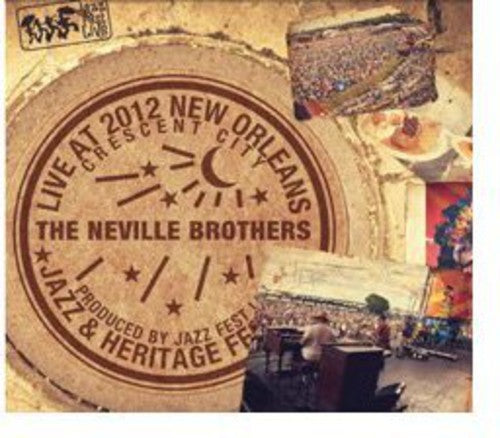 The Neville Brothers: Live at Jazzfest 2012