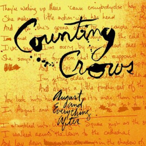 Counting Crows: August & Everything After
