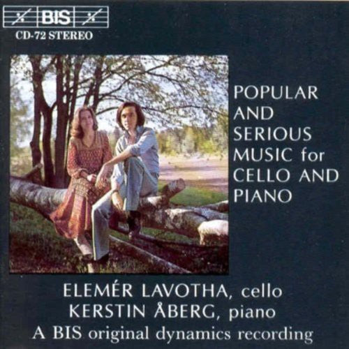 Various Artists: Popular & Serious Music Cello & Piano / Various