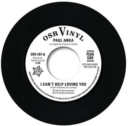 Paul Anka: I Can't Help Loving You/When We Get There