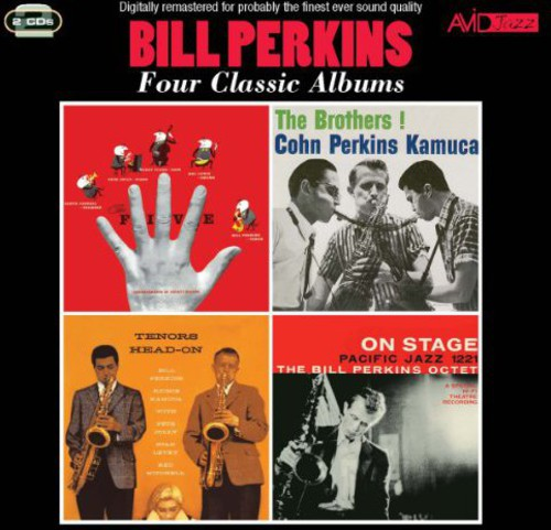 Bill Perkins: Five / Brothers / Tenors Head-On / on Stage