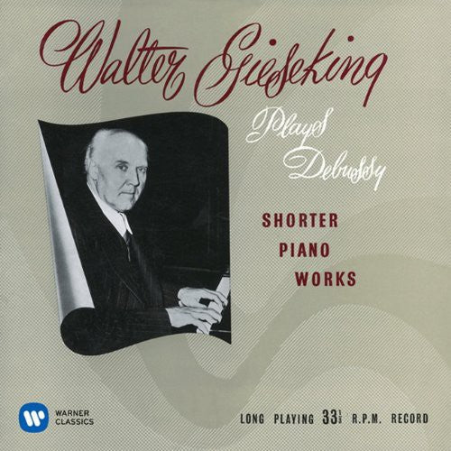Walter Gieseking: Debussy: Suite Bergamasque. Arabesque