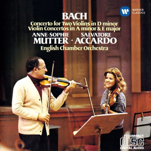 Anne-Sophie Mutter: Bach: Concerto for Two Violins in D