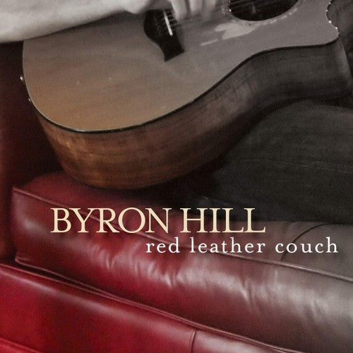 Byron Hill: Red Leather Couch