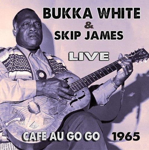 Skip James: Live at the Cafe Au Go Go