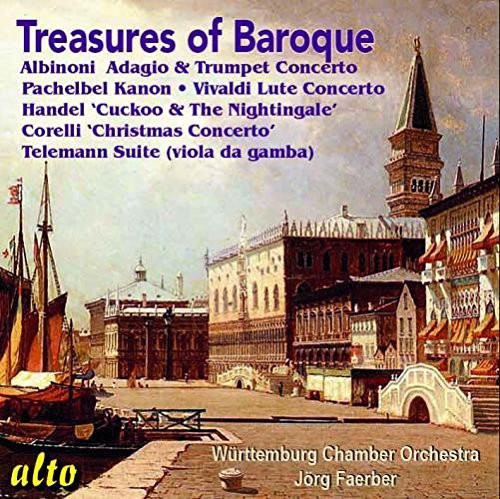 Faer / Wurttemburg Chamber Orch: Treasures of the Baroque