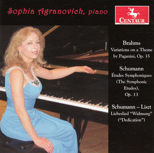 Brahms / Schumann / Agranovich: Works for Pno