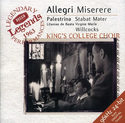 King's College Choir of Cambridge: Miserere / Stabat Mater