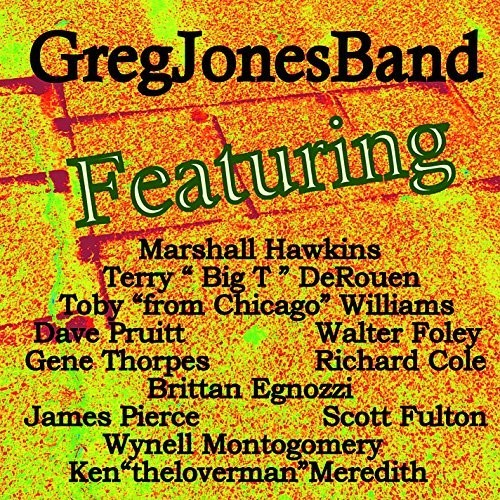 Greg Jones: Featuring