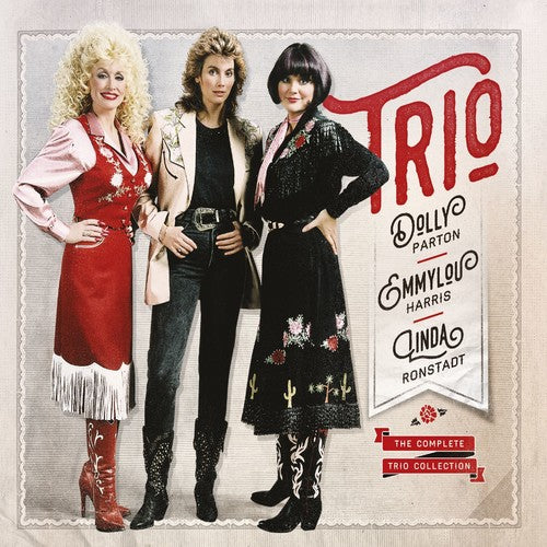 Parton, Dolly / Ronstadt, Linda / Harris, Emmylou: The Complete Trio Collection 3 CD Set