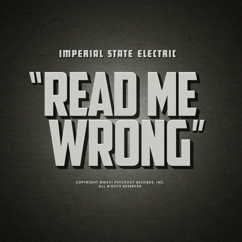 Imperial State Electric: Read Me Wrong