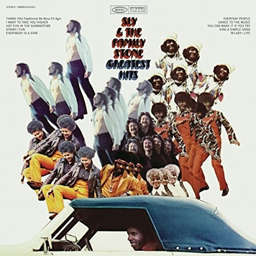 Sly & the Family Stone: SLY & THE FAMILY STONE Greatest Hits (1970)